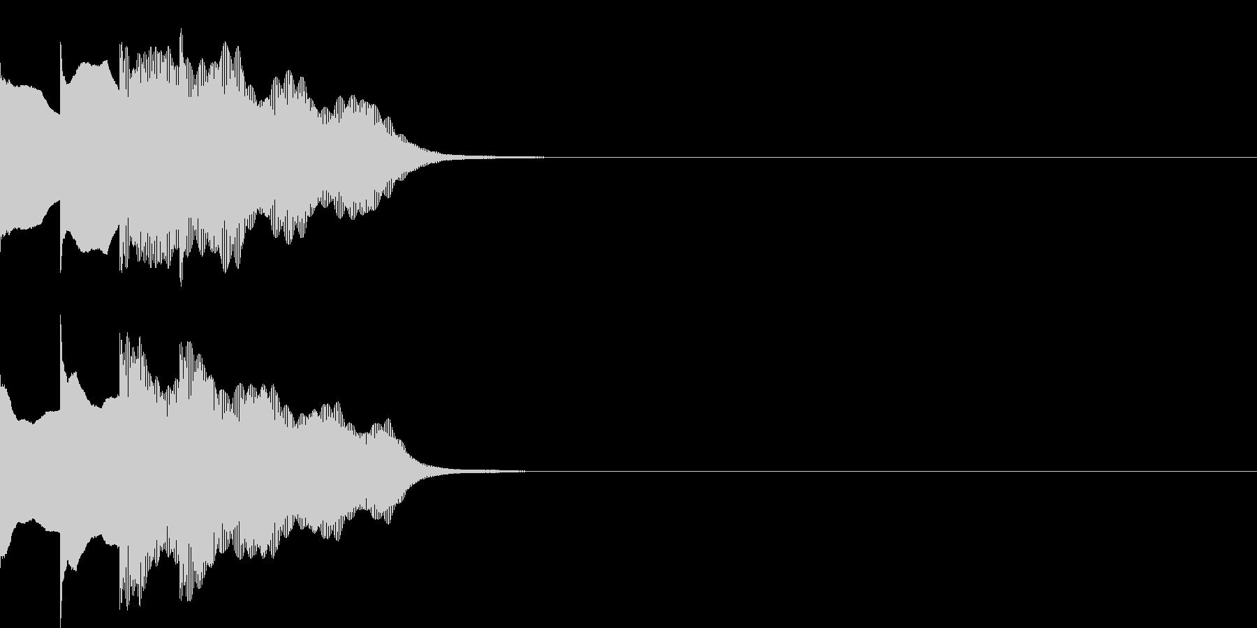 多用途効果音-07E(放送チャイム下降)の未再生の波形