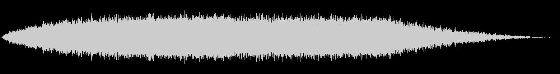 上昇 シンセロング01の未再生の波形