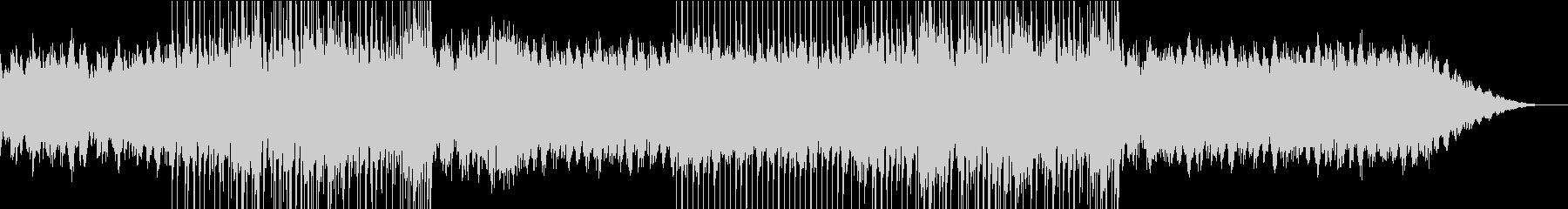 きらきらと流れるようなピアノ旋律の未再生の波形