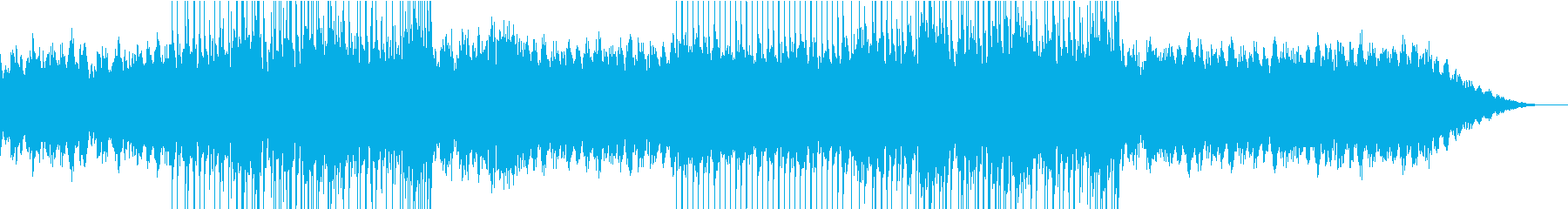 きらきらと流れるようなピアノ旋律の再生済みの波形