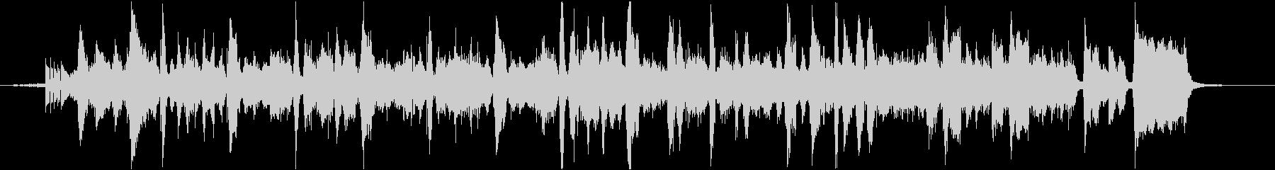 スイカをテーマにした楽曲の未再生の波形