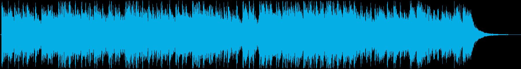力強い響きがインパクトあるメロディーの再生済みの波形