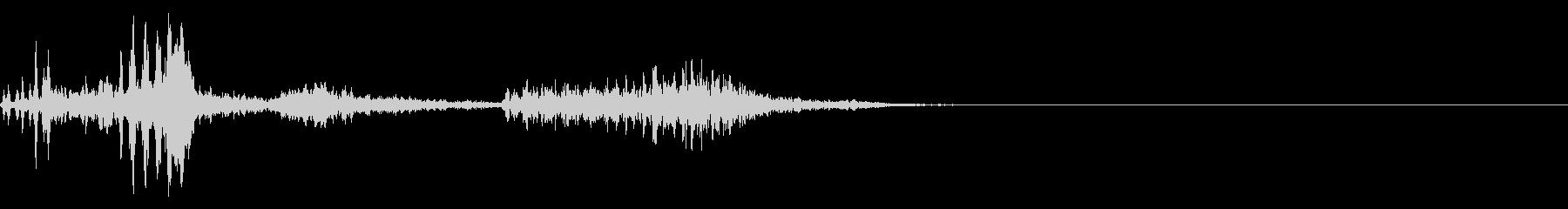 【生録音】フラミンゴの鳴き声 32の未再生の波形