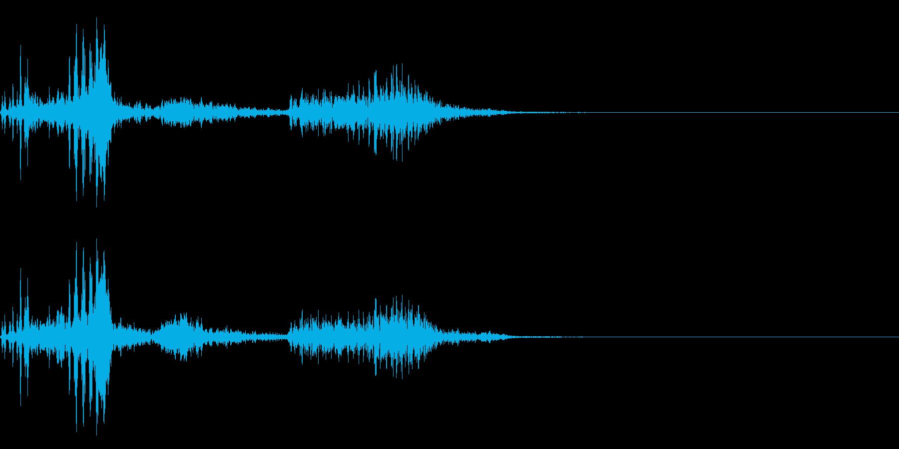 【生録音】フラミンゴの鳴き声 32の再生済みの波形