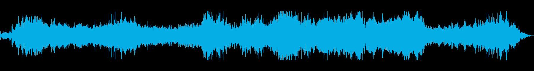 ジェットスキー離陸の再生済みの波形