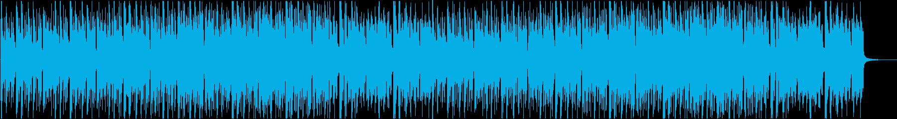 CM用かわいい軽快な曲の再生済みの波形