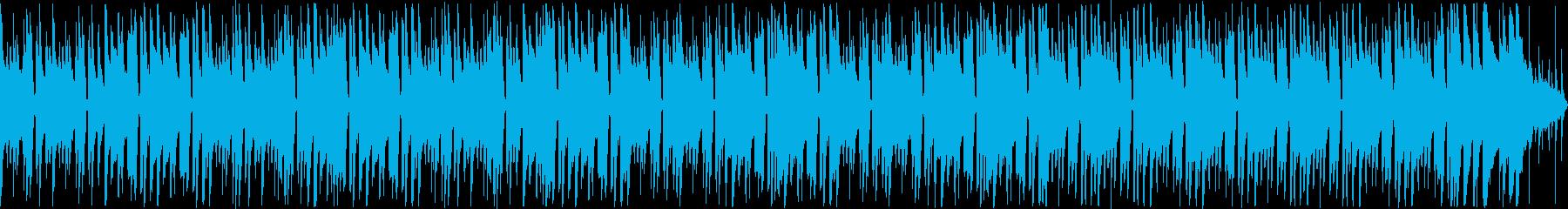【ループ】落ち着いた夏のボサノバの再生済みの波形