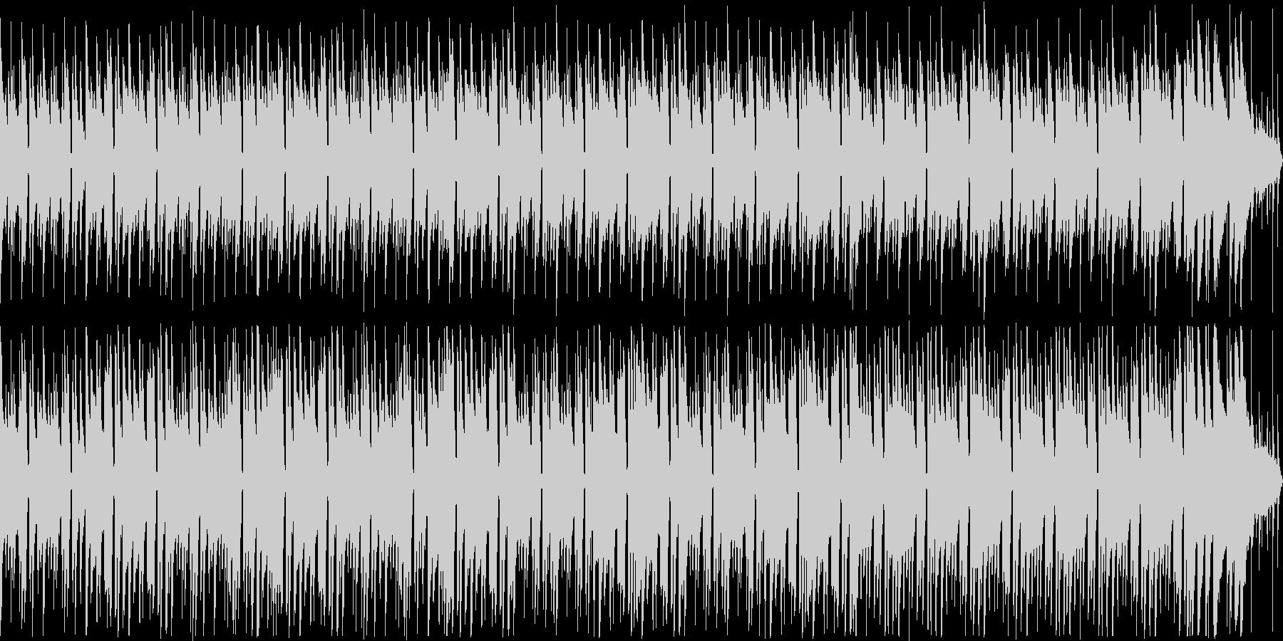 【ループ】落ち着いた夏のボサノバの未再生の波形