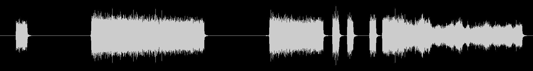 PUFFS、吹く空気、4バージョン...の未再生の波形