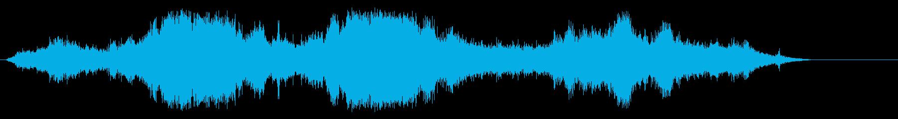 防波堤の再生済みの波形