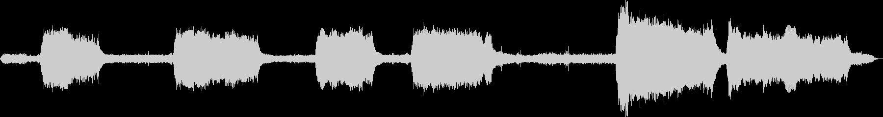 ソー、チェーンソー、エンジン; D...の未再生の波形