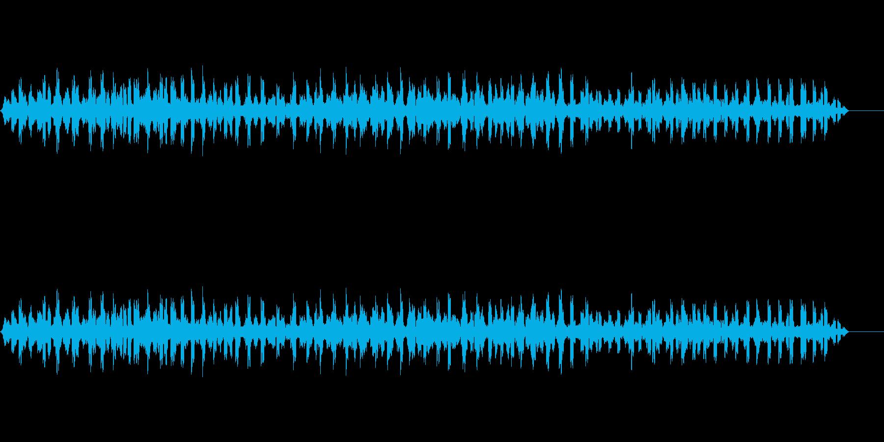 セミクリケット-昆虫3の再生済みの波形