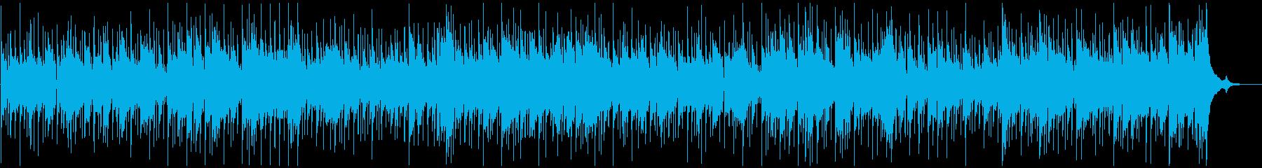 カントリー調のほのぼとモダンなBGMの再生済みの波形