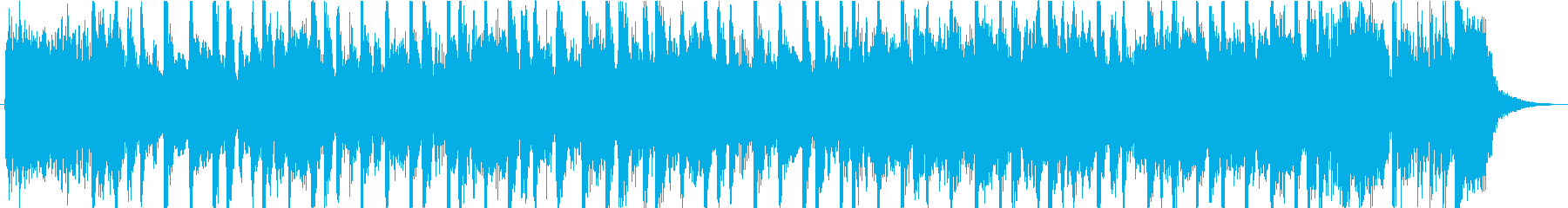 明るく楽しいビンテージブルースロックミュの再生済みの波形