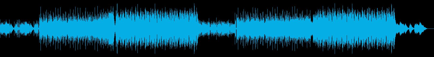 重低音、HIPHOP、オシャレCOOLの再生済みの波形