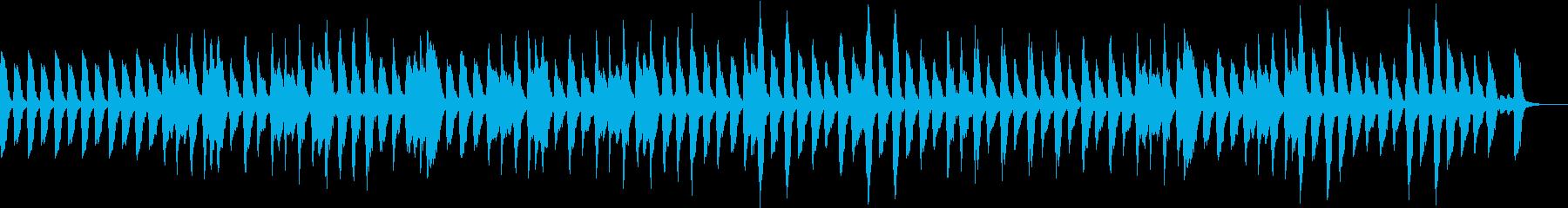 ほのぼのな日常的曲の再生済みの波形
