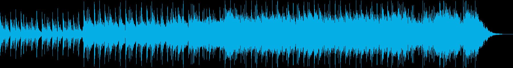 日本らしさが伝わる癒しの和風曲の再生済みの波形