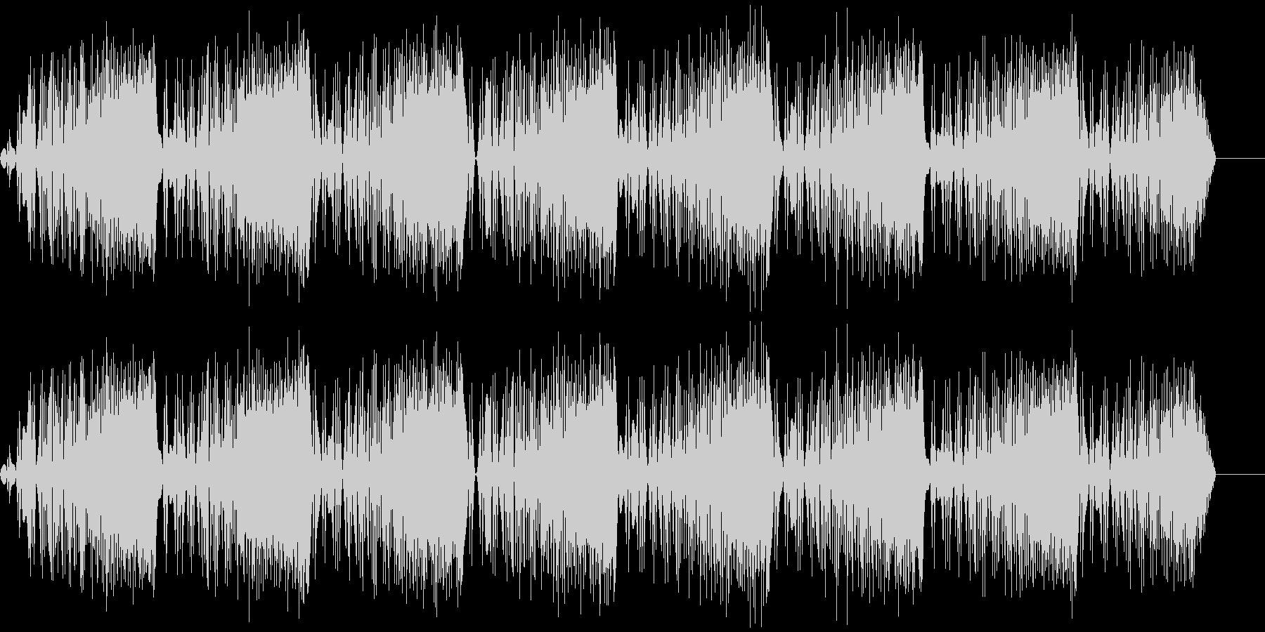 ビービービー(ノイズ/危険/サイレンの未再生の波形