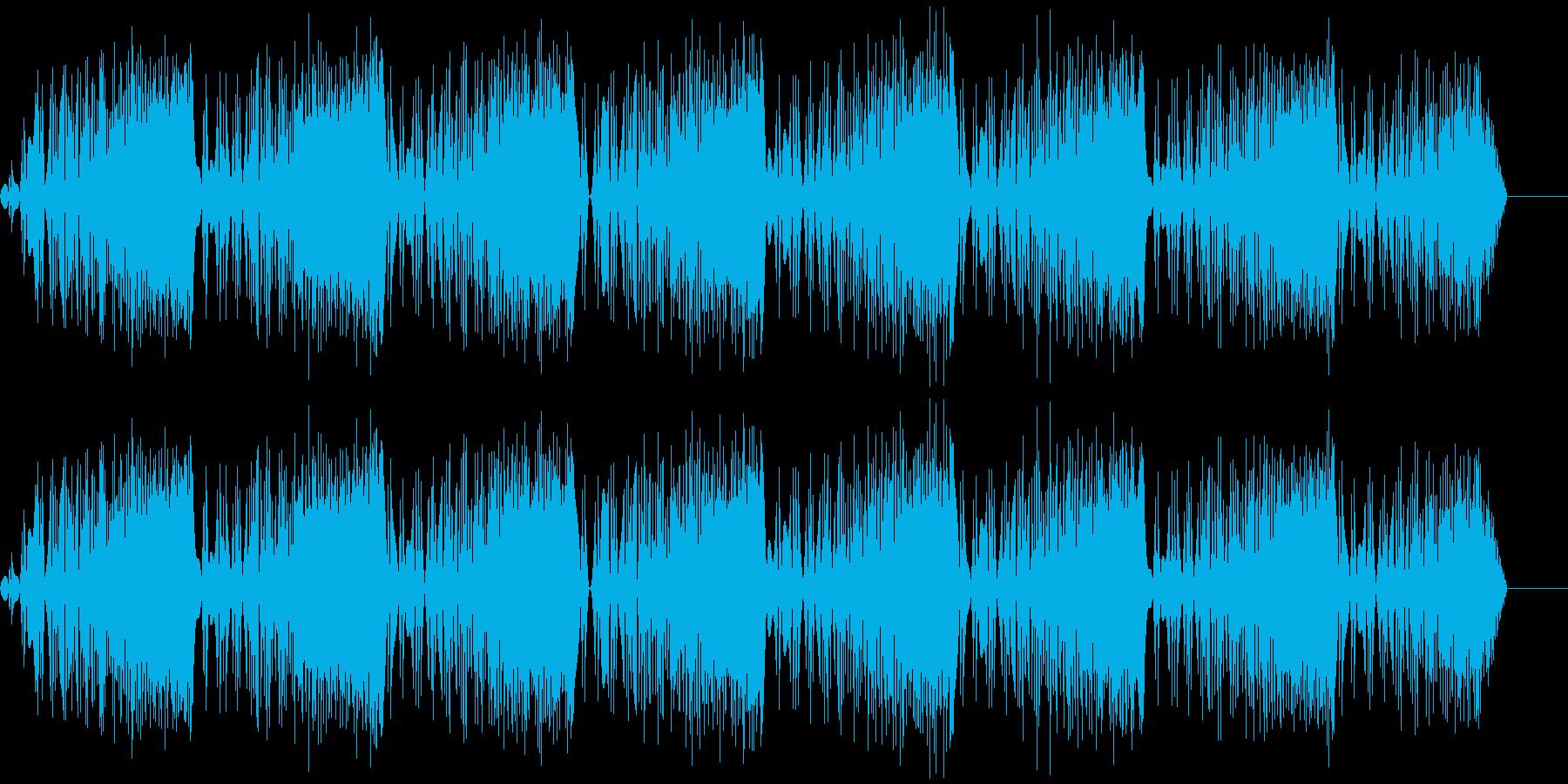 ビービービー(ノイズ/危険/サイレンの再生済みの波形