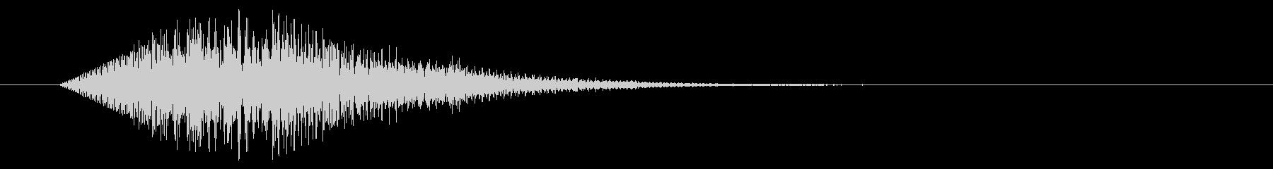 テロップ/柔らかい/ひらひらの未再生の波形