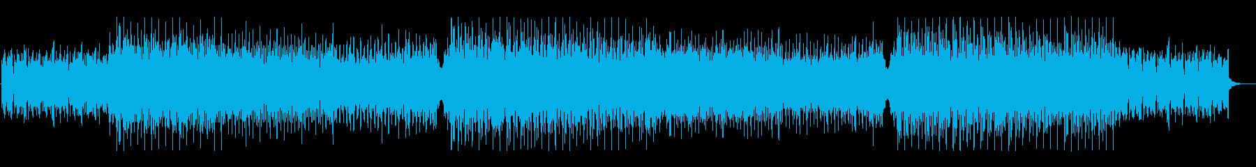 おしゃれで爽やか、軽快なトロピカルハウスの再生済みの波形