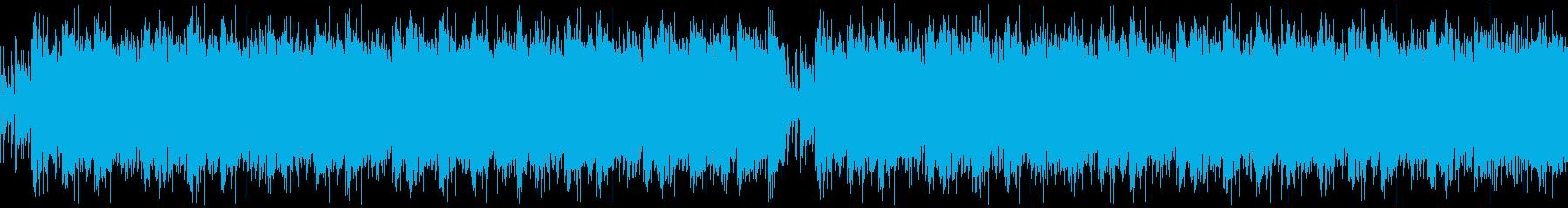 【メタルコア/バッキング/リフ/激】の再生済みの波形