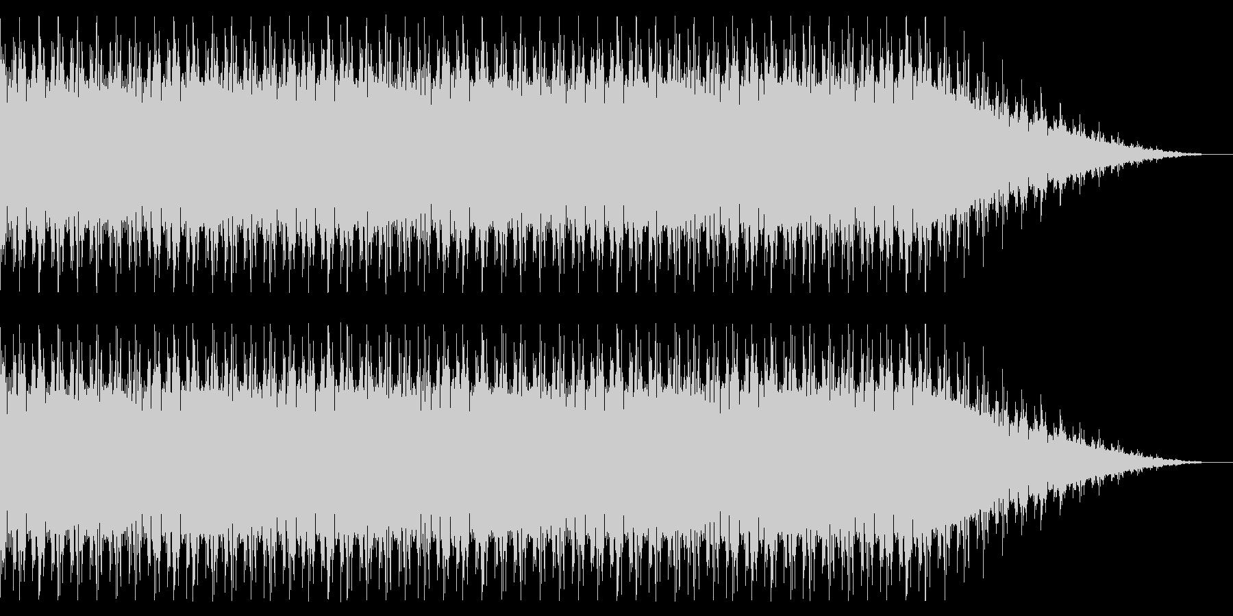 ベースの強いドラムンベースの未再生の波形