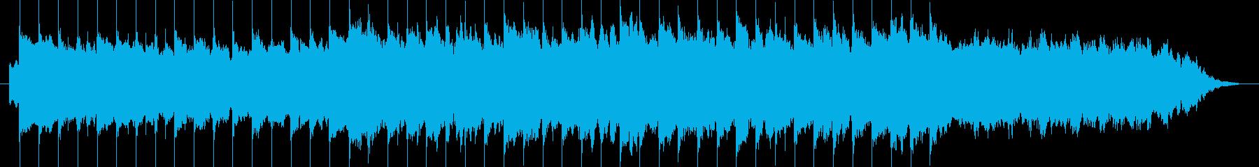 30秒 / 期待度いっぱいの明るい曲 の再生済みの波形