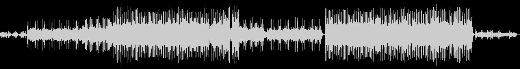 キラキラシンセが印象的で神秘的なサウンドの未再生の波形