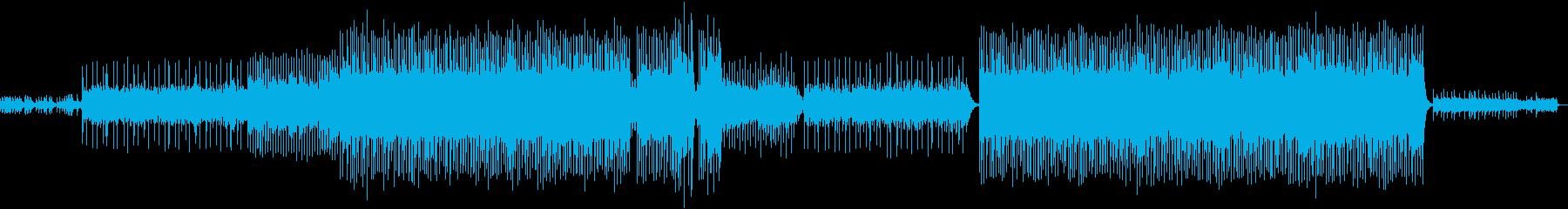 キラキラシンセが印象的で神秘的なサウンドの再生済みの波形