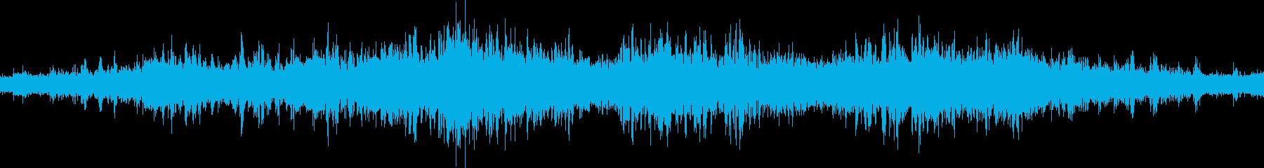 一駅分の走行音です。(和歌山線)の再生済みの波形