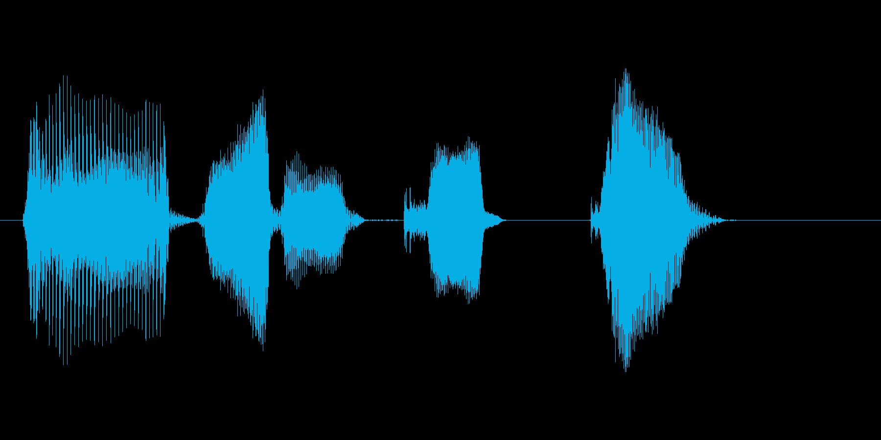 ダブルキック!の再生済みの波形