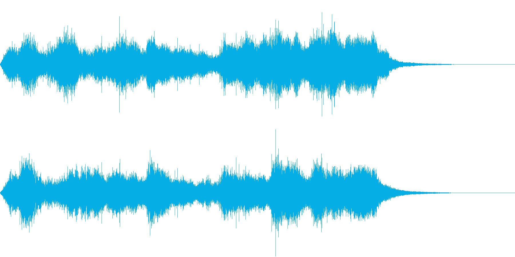 CINEMATIC RISER_12の再生済みの波形