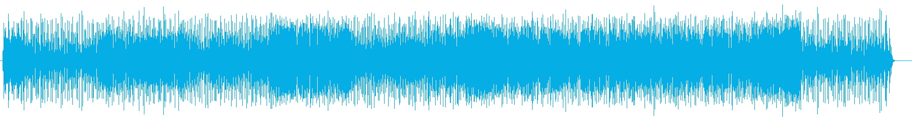 Game BGM comical electronic sound sound's reproduced waveform
