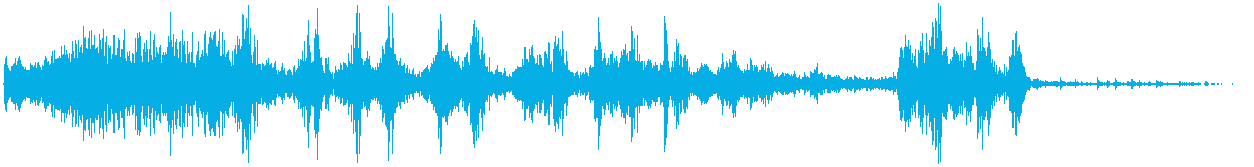 電動ワッシャー:中程度のスプレー、...の再生済みの波形