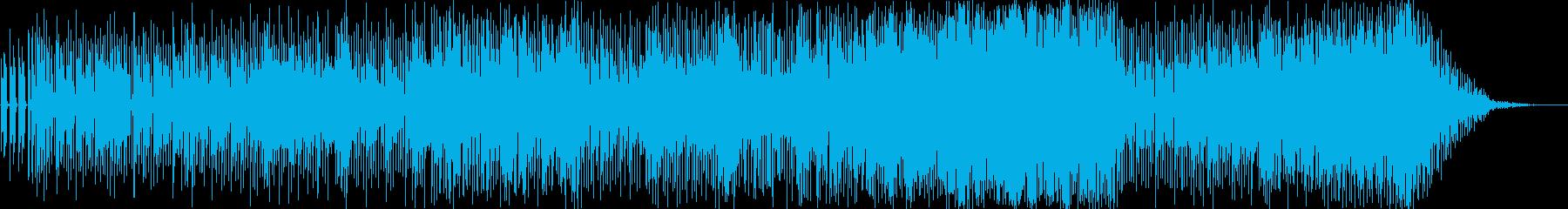 ジャングルのともだちの再生済みの波形