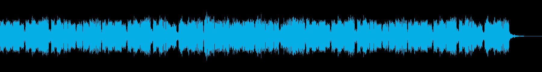 ほのぼのしたリコーダーのBGMの再生済みの波形