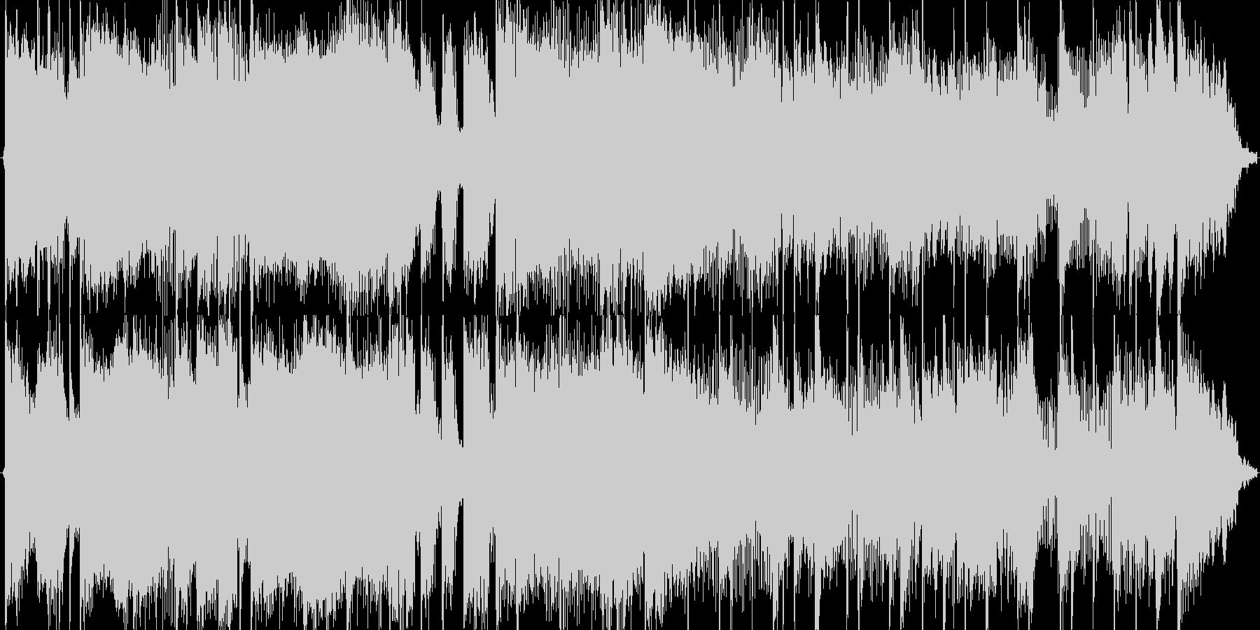 Funkyな登場系ジングルです。の未再生の波形