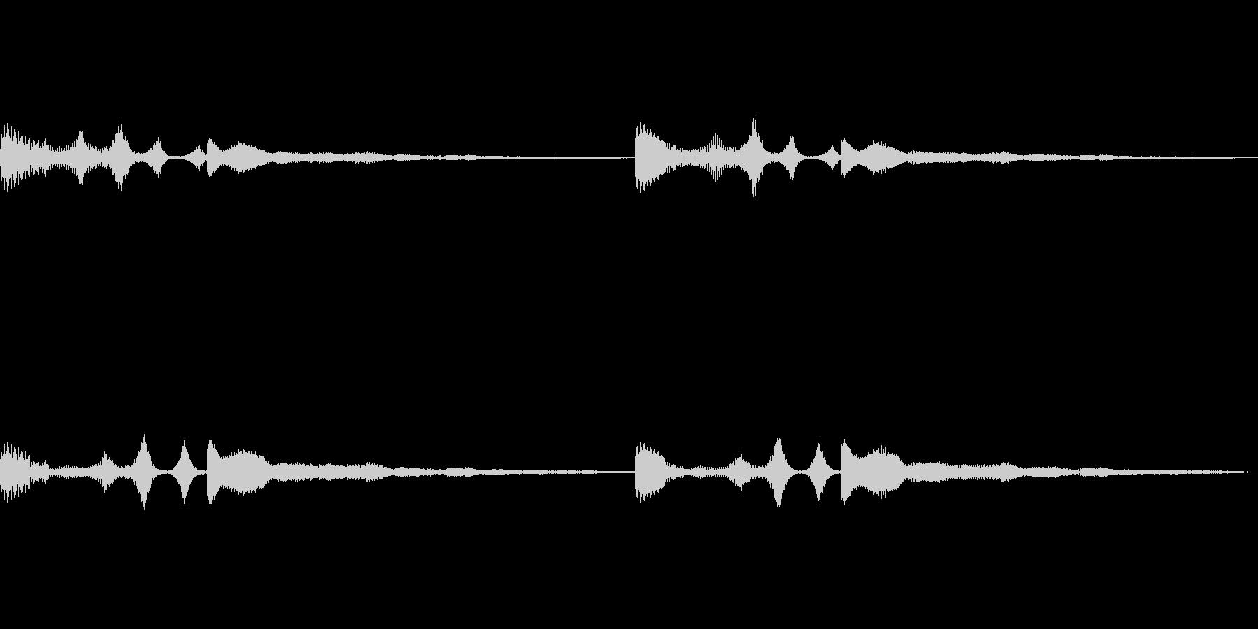 シャラララ…シャラ 謎の通信音 (SF)の未再生の波形