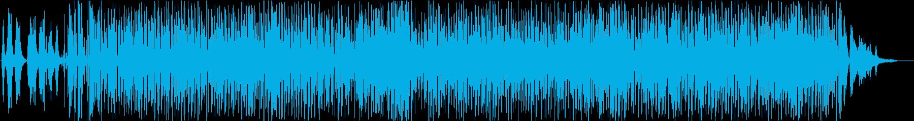 フランス・アコーディオンのスウィングの再生済みの波形