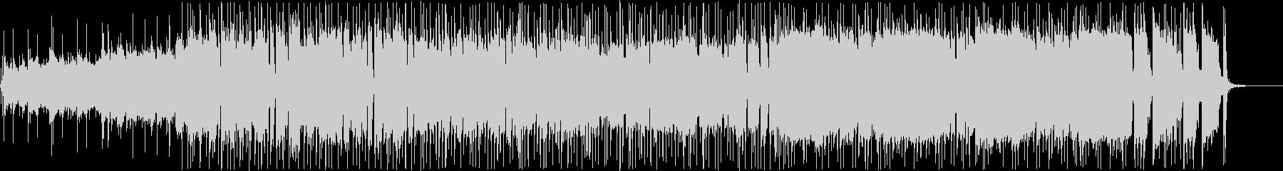 ノリがよくてシンプルなロックの未再生の波形