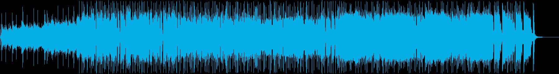 ノリがよくてシンプルなロックの再生済みの波形