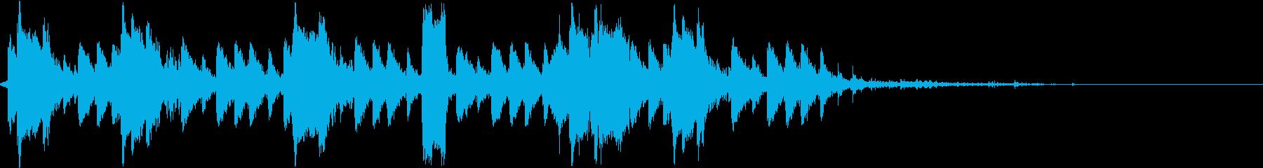 DJ効果音 街中をあるく(10倍速)の再生済みの波形