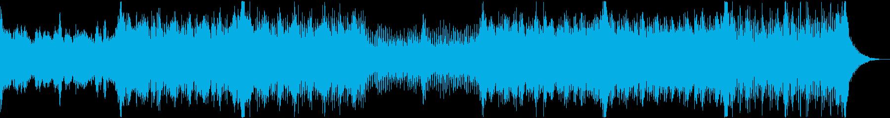 アニメ風な悪役サイドのBGM(ダーク)の再生済みの波形