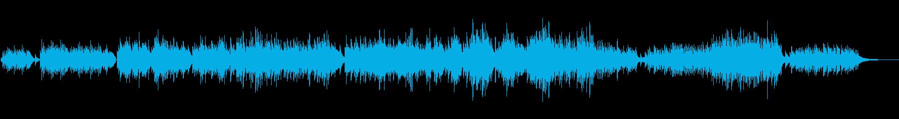 生ピアノソロ・早めの雪の再生済みの波形