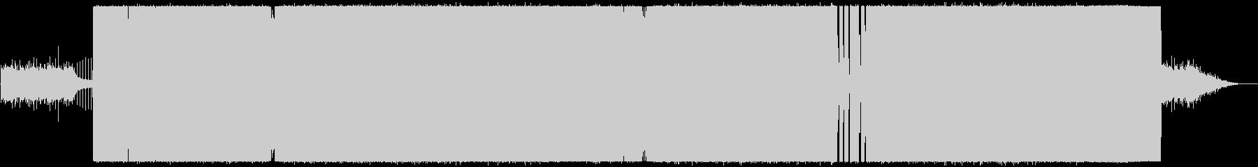 ベイクドパンケイクスの未再生の波形