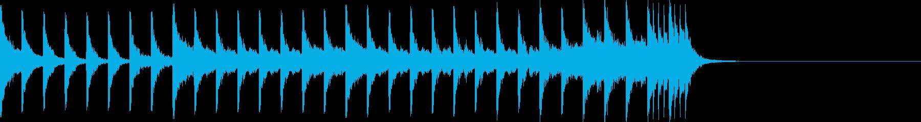 オープニング用)クイズ番組ドキュメンタリの再生済みの波形
