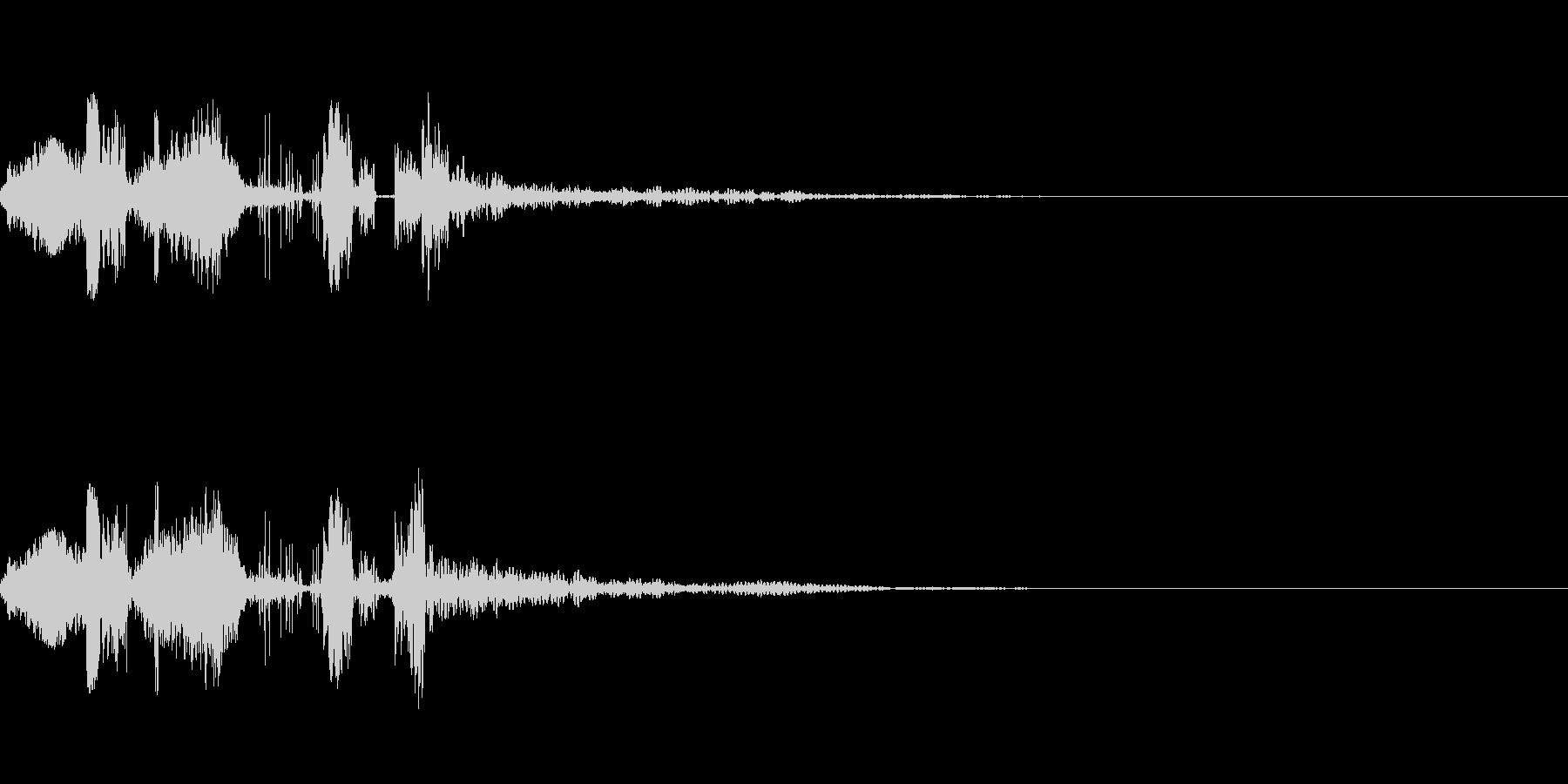 ラジオジングルキット 海外FM風の未再生の波形