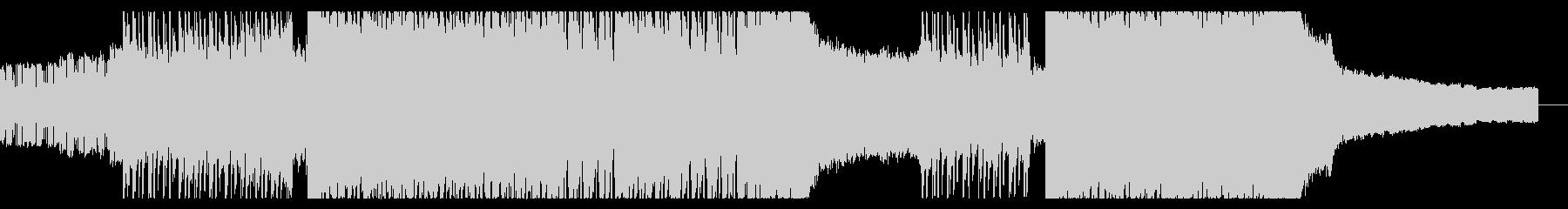ハイテンポなドラムンベース クールの未再生の波形