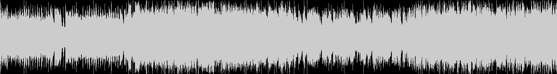 明るいギターロックインスト/ループの未再生の波形